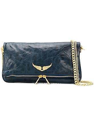 Zadig & Voltaire Rock Crush shoulder bag - Blue