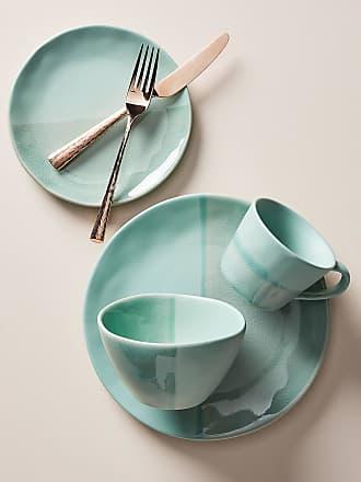 Anthropologie Keegan Dinner Plates, Set of 4