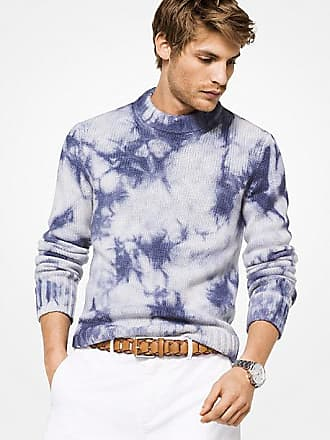 Michael Kors Mens Tie-Dye Cashmere Sweater