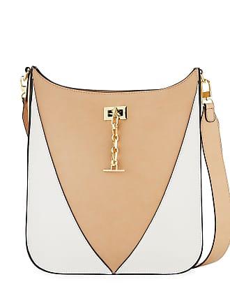 Neiman Marcus Baylee Two-Tone Crossbody Bag