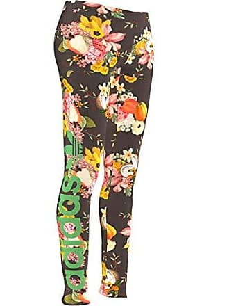 2196bd44801921 adidas Originals The Farm Jardim Leggings Sport & Freizeit Hose Floral  Blumen, Größe:34