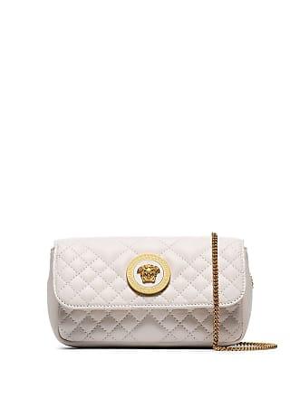 Versace quilted shoulder bag - Branco