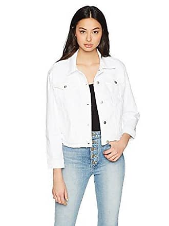 Joe's Womens Anita Jacket, Destructed White, M