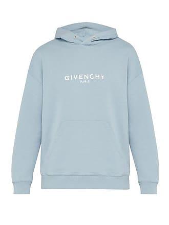 e835fa7e1f4 Givenchy Sweat-shirt à capuche en coton à imprimé logo