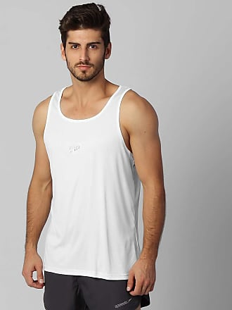 Speedo Camiseta Regata Speedo Basic Uv50 Academia Corrida - Branco
