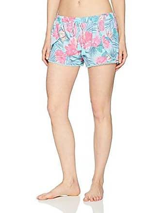 PJ Salvage Womens Printed Lounge Pajama Short, Tropic Floral, Medium