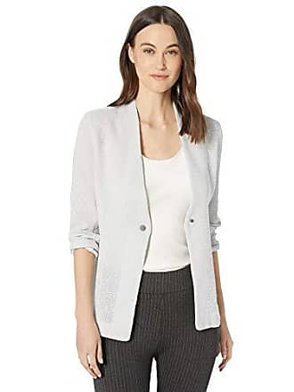 Nic+Zoe Womens ONE for All Jacket, Silver Wisp, Extra Small