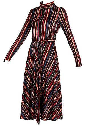 f9f48e6a257 Oscar De La Renta 1970s Oscar De La Renta Vintage Jersey Knit Midi Dress  With Matching