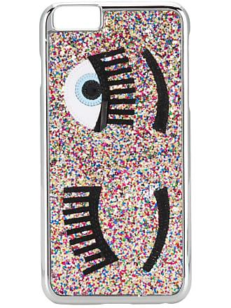 Chiara Ferragni Capa para iPhone 6 com glíter - Prateado