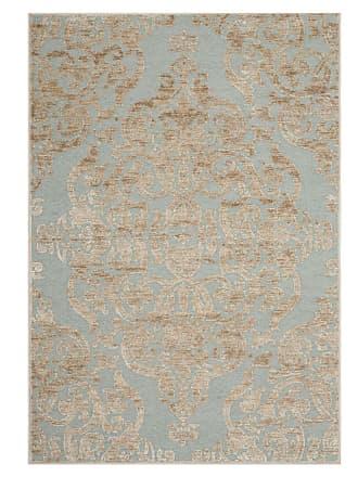 Safavieh Teppich Marigot Stein/Türkis Rechteckig 160x230 cm (BxT) Glamour Viskose