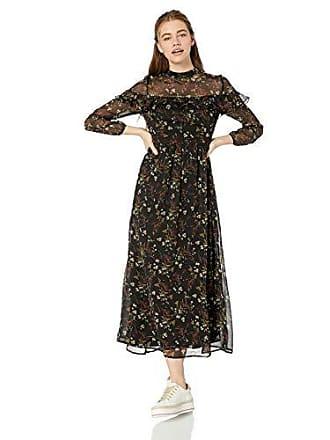 3f688a784a BB Dakota Womens Floral Attire Jasmine Vine Printed Crinkle Shiffon Dress