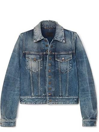 6118874eee Saint Laurent® Denim Jackets − Sale: up to −70% | Stylight