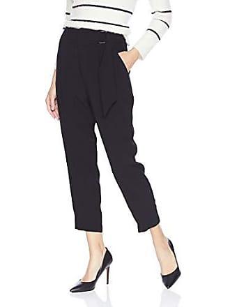 Ramy Brook Womens Hudson Tapered Dress Pant, Black 12