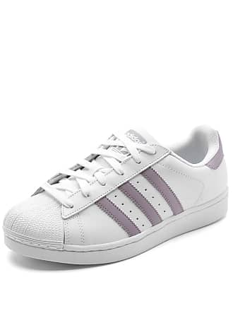 adidas Originals Tênis Couro adidas Originals Superstar W Branco