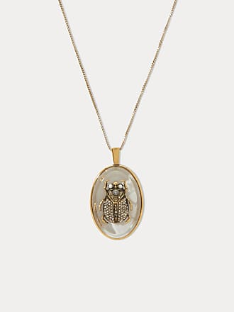 Alexander McQueen Beetle necklace