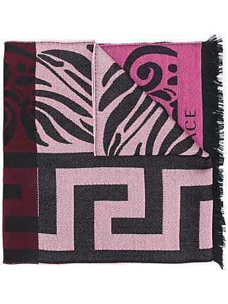 Versace Greek Key scarf - Preto