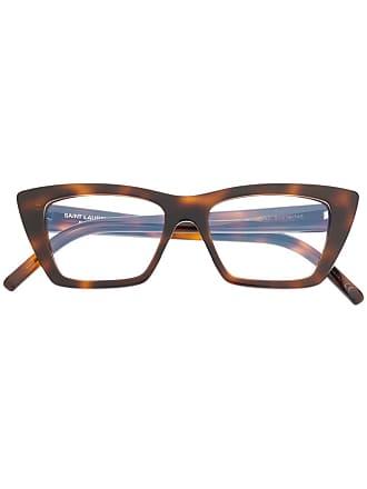 Saint Laurent Eyewear Armação de óculos SL 291 - Marrom