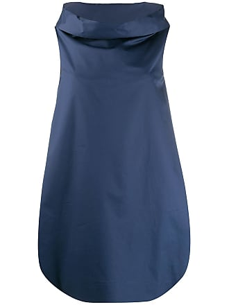 Blanca Vestido de festa balonè - Azul