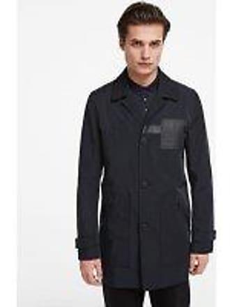 Karl Lagerfeld Logo Patch Coat