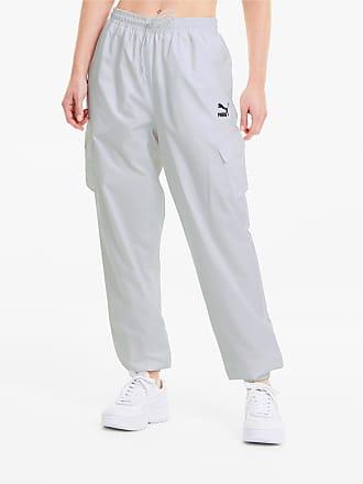 Puma Classics Utility Woven Womens Pants, White, size X Large, Clothing