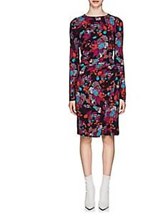 c98f3da48a Givenchy Womens Fire Flower-Print Wrap Dress - Black Size 36 FR