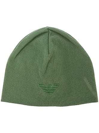 Emporio Armani logo beanie - Green