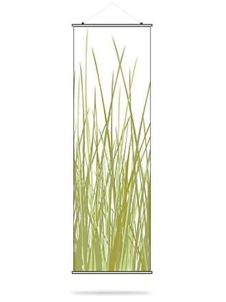 Inhabit Summer Grass Canvas Wall Art