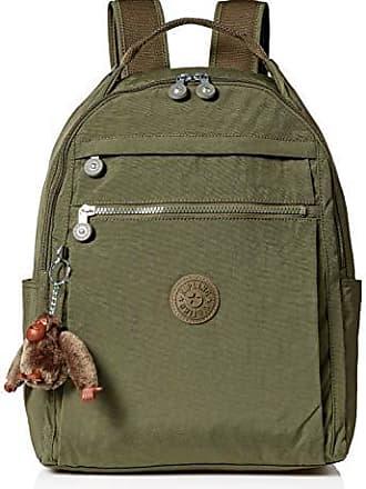 Kipling Womens Micah Medium Laptop Backpack, Adjustable, Padded Backpack Straps, Zip Closure, jaded green