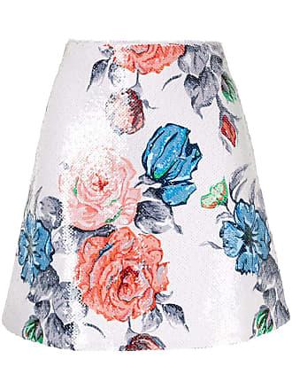 Nina Ricci Saia com estampa floral - Estampado