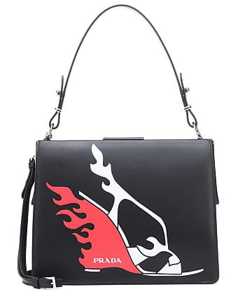 Prada Light Frame leather shoulder bag cf46345104