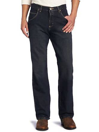 Wrangler Mens Big Rugged Wear Relaxed Straight Fit Jean, Union, 48x34