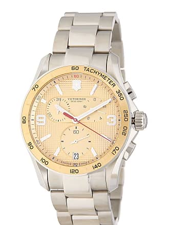 Victorinox by Swiss Army Mens Chrono Classic Bracelet Watch, 41mm