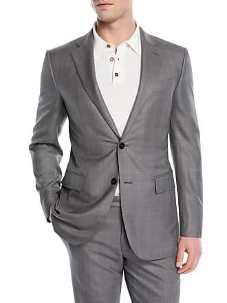 Ermenegildo Zegna Light Plaid Wool-Blend Two-Piece Suit ecd7eeafd480