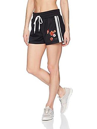2(x)ist Womens Retro Short Shorts, Black, Medium