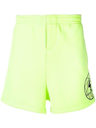 Ex Infinitas Flex track shorts - Amarelo