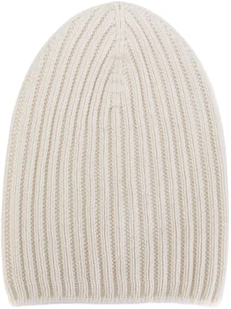 Barrie ribbed-knit cashmere beanie - White 78d23c90184e