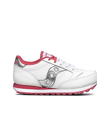 newest collection cbb48 cd13e Saucony JAZZ ORIGINAL BAMBINA LEATHER STRINGA