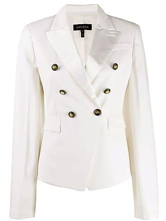 Escada double-breasted tailored blazer - Branco
