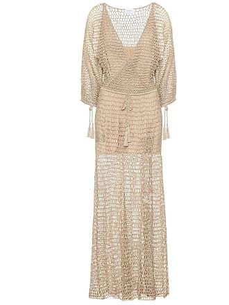 4b2cc0a76c6 Anna Kosturova Robe longue Stevie en crochet de coton