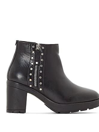 Noir cuir à Boots talons KICKERS Tanissa Kickers YqvZxn