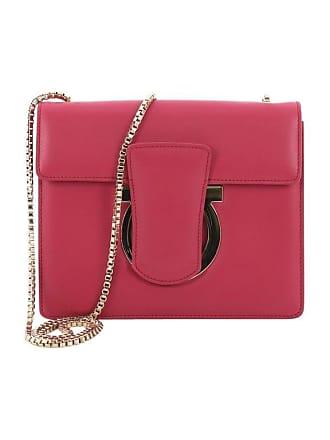 8a01389cab Salvatore Ferragamo Thalia Shoulder Bag Leather Small