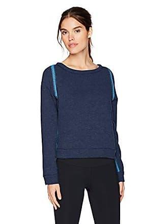Maaji Womens Waterway Reversible Pullover Sweatshirt, Navy, Small