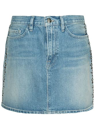 Frame Denim Le Mini skirt - Azul