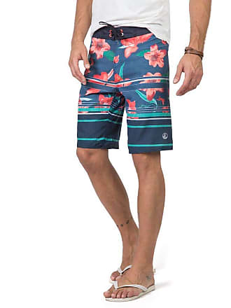 Taco Boardshort Estampado Azul Marinho Azul Marinho/48