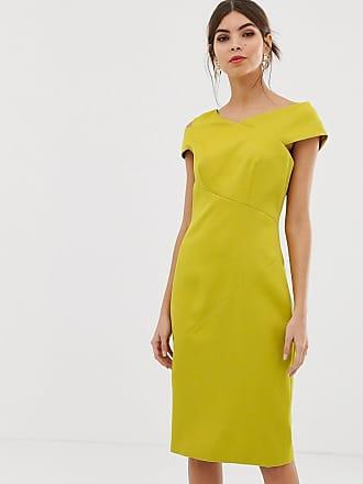 Ted Baker Aspyn bodycon dress - Yellow
