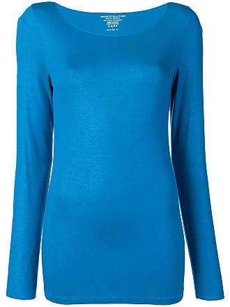 Majestic Filatures Suéter slim - Azul