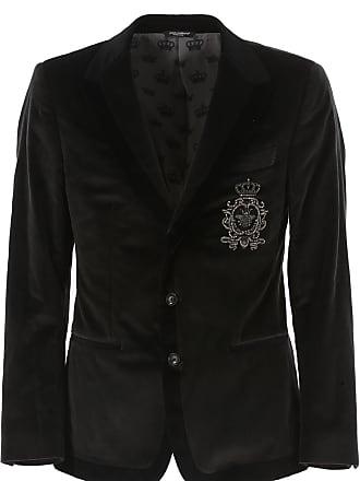 719273bb36e2 Dolce   Gabbana Blazer für Herren Günstig im Outlet Sale, Anthrazit,  Baumwolle, 2017