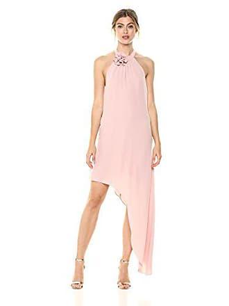 52f7df39a5 Bcbgmaxazria BCBGMax Azria Womens Deborah Asymmetrical Halter Dress