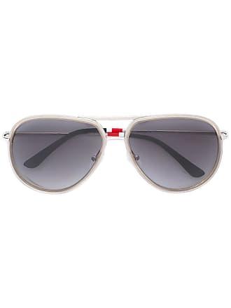 Orlebar Brown Óculos de sol aviador - Metálico