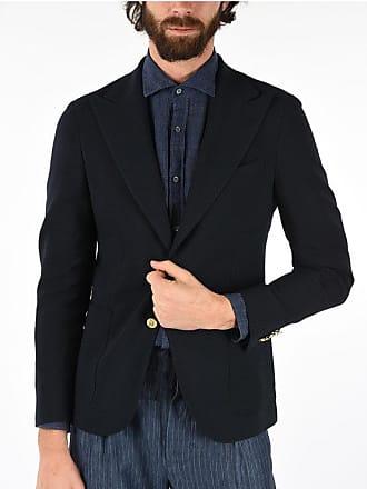 Corneliani CC COLLECTION giacca REWARD a 2 botton pin check in lana ver taglia 50